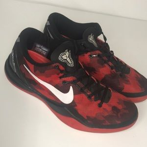 Nike Kobe AD Elite 2012 size 8.5 Red Black